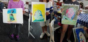 Taller de pintura con Roberto Orallo