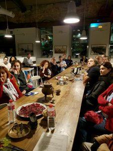 Presentación del aula de cultura alimentaria, por Slow Food y La Ortiga