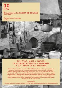 «Bellotas, maíz y gatos. La alimentación en Cantabria a lo largo de la historia»