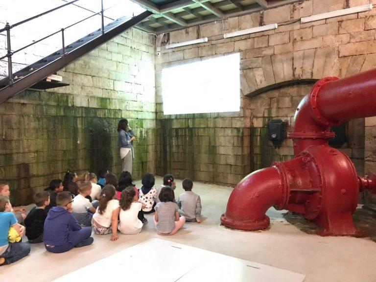 Lee más sobre el artículo Visita del colegio Simón Cabarga