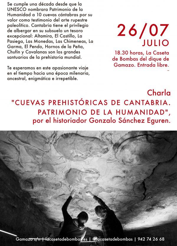 Charla: Cuevas prehistóricas de Cantabria. Patrimonio de la humanidad