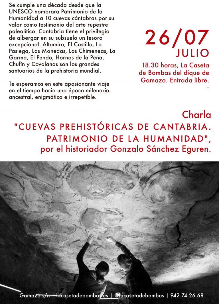 Lee más sobre el artículo Charla: Cuevas prehistóricas de Cantabria. Patrimonio de la humanidad